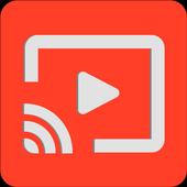 TubeCast. For Chromecast Audio icon