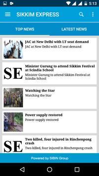 Sikkim Express screenshot 1