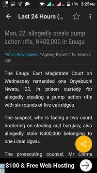 Naija Breaking News screenshot 1