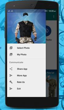 Commando Photo Suit apk screenshot