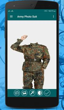 Commando Photo Suit screenshot 4