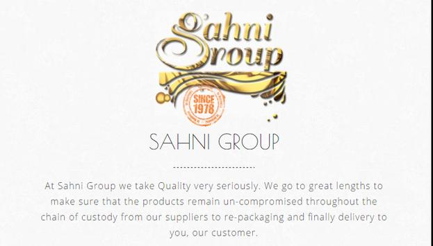 SAHNI GROUP poster