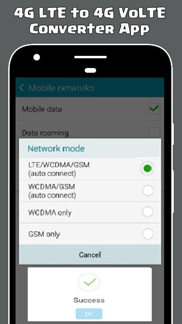 New 4G-VoLTE Converter Simulator 2018 - Prank for Android