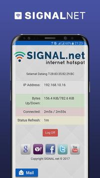 @SIGNAL.net - Internet Hotspot apk screenshot