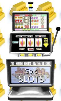 3D Gold Slots - Free poster