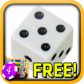 3D Loaded Dice Slots - Free-icoon