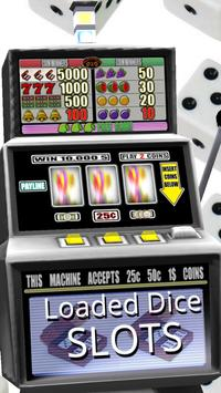 3D Loaded Dice Slots - Free screenshot 2