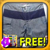 3D Swim Trunks Slots - Free icon
