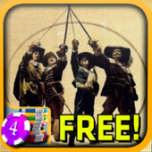 3D 3 Musketeers Slots - Free icon