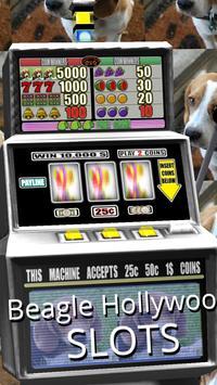 3D Beagle Hollywood Slots apk screenshot