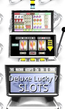3D Deluxe Lucky 7 Slots poster