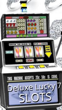 3D Deluxe Lucky 7 Slots apk screenshot