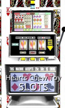 3D Hearts Chew Toy Slots poster