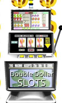 Poster 3D Double Dollar Slots