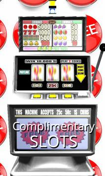 3D Complimentary Slots poster