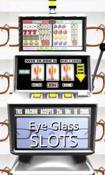 3D Eye Glass Slots poster
