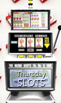 3D Thursday Slots poster