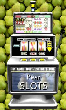 3D Pear Slots - Free poster