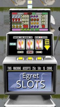 3D Egret Slots - Free poster