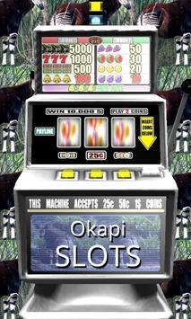 3D Okapi Slots - Free poster