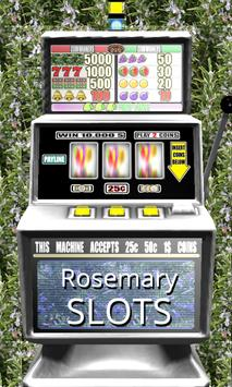 3D Rosemary Slots - Free poster