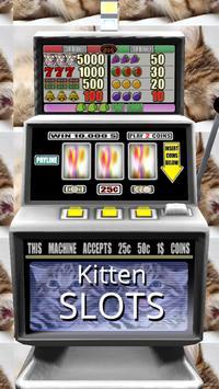 3D Kitten Slots - Free poster