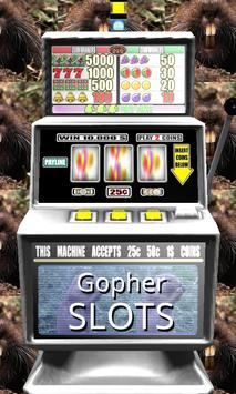 Gopher Slots - Free poster