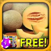 3D Cantaloupe Slots - Free icon
