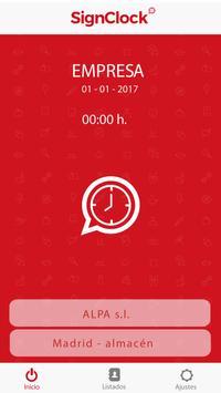 SignClock apk screenshot