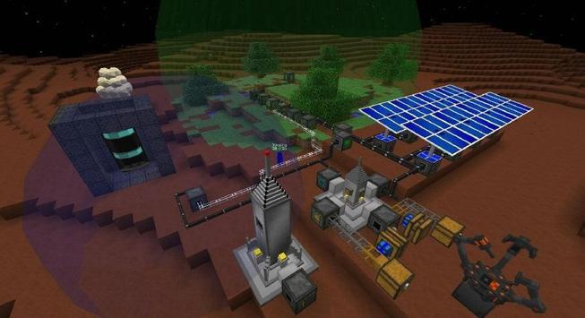 Galacticraft Mod for MCPE Screenshot 1