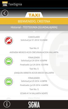 TaxiSignia screenshot 3