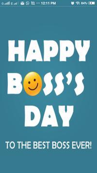 Boss Day Wallpaper 2016 poster