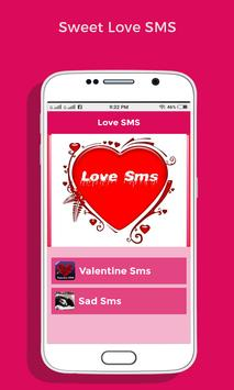 Love SMS apk screenshot