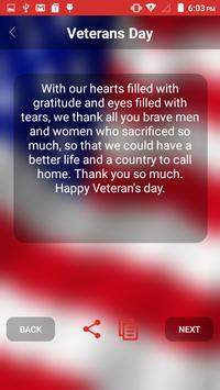 Veterans Day 2016 screenshot 2