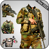 Afghan Army Suit Editor - Uniform changer 2017 icon