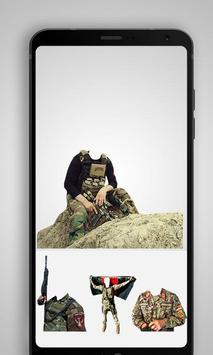 Afghan Army Suit Editor - Uniform changer 2017 apk screenshot