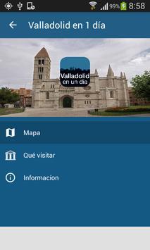Valladolid en 1 día poster