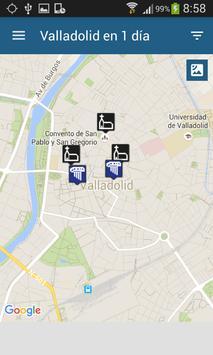 Valladolid en 1 día apk screenshot