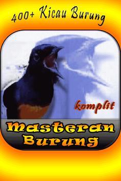 Masteran Kicau Burung Komplit (Natural Bird Sound) poster