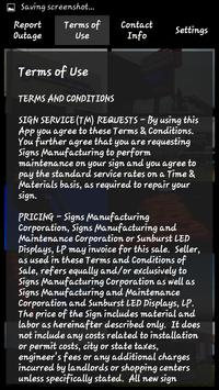 Sign Service Request apk screenshot