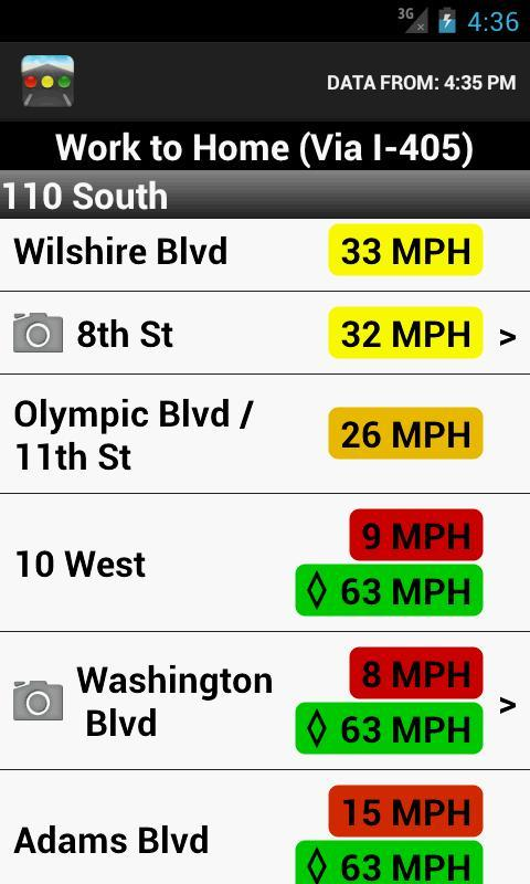 Sigalert - Traffic Reports for Android - APK Download