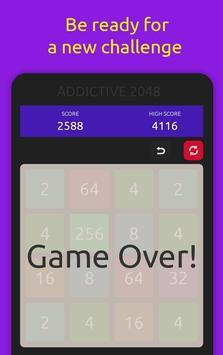 2048 Addictive Puzzle Square Game [4x4] screenshot 2