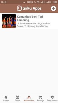 Dariku App apk screenshot