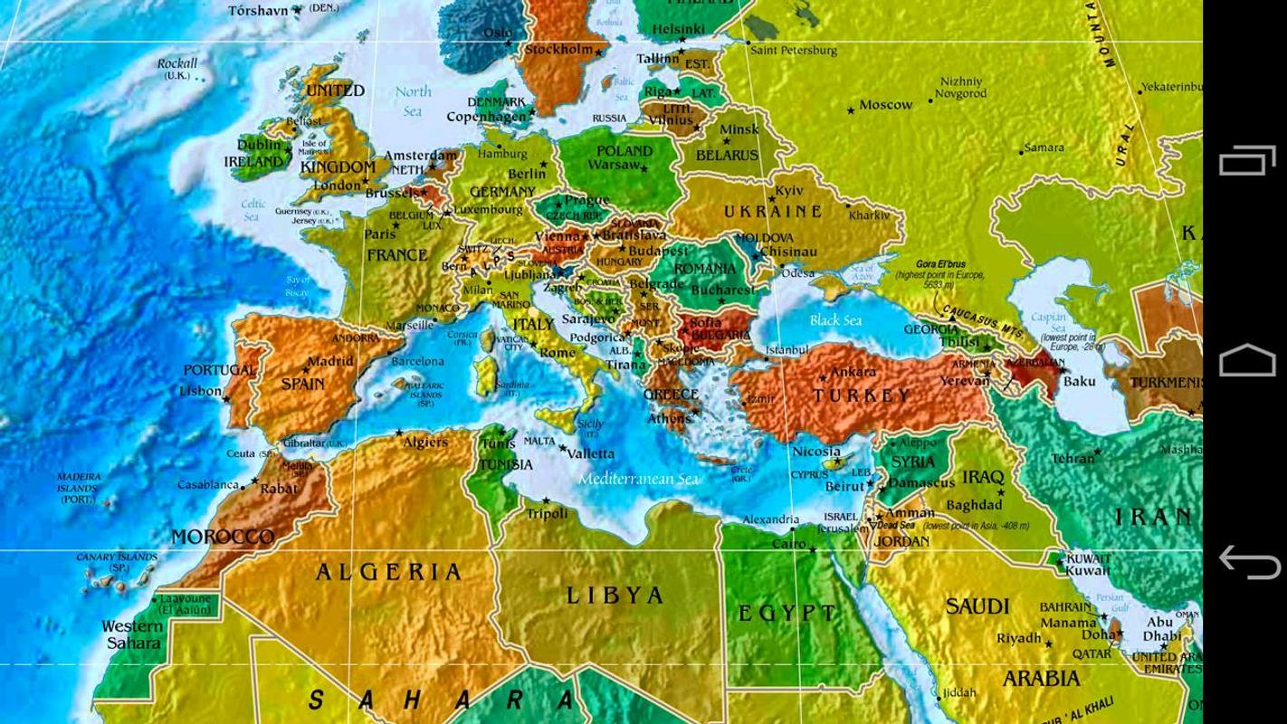 World map apk download free education app for android apkpure world map poster world map apk screenshot gumiabroncs Images