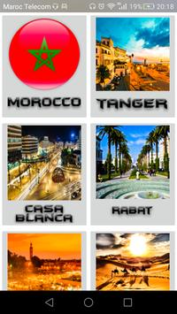 travel to Morocco poster