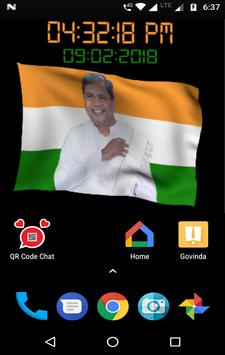 Siddaramaiah Flag Live Wallpapers - Congress screenshot 4