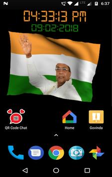 Siddaramaiah Flag Live Wallpapers - Congress screenshot 8