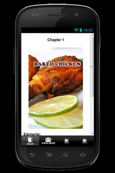 Free Recipes Baked Chicken screenshot 2