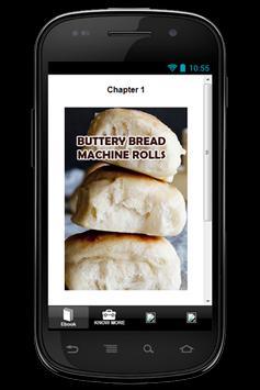 Recipe  Bread Machine Roll apk screenshot