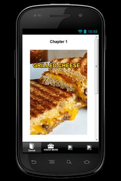 Free Recipes Grilled Cheese apk screenshot